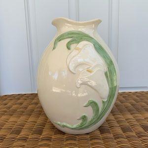 "10"" Handpainted Vase"